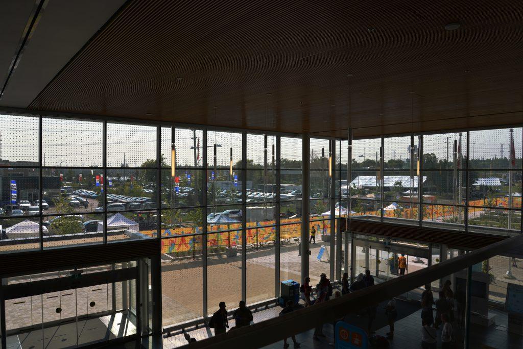 Pan Am 2015 Markham - Lobby