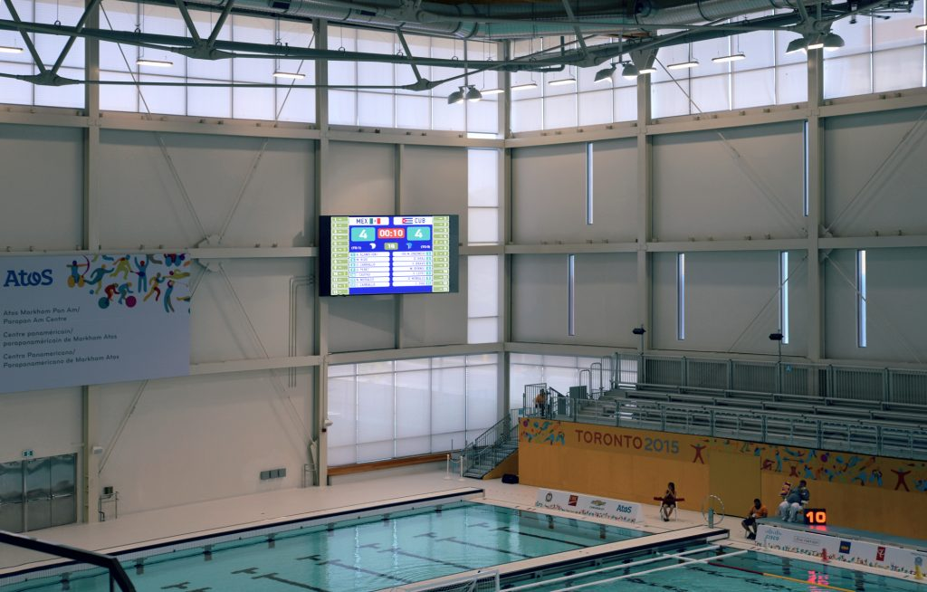 Pan Am 2015 Markham - Pool Area