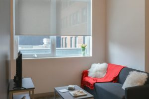 Vision Shades in a Student Residence
