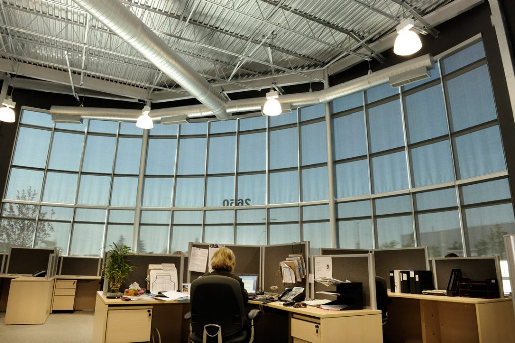 Design Group - Roller Shades Install