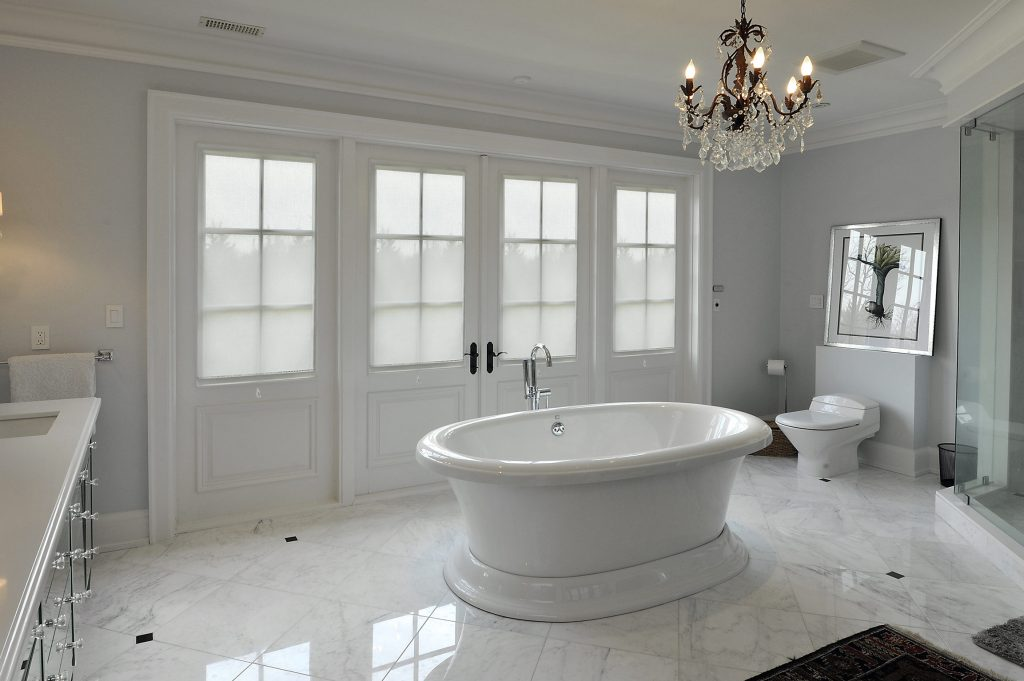 Glamorous Home Master Bath