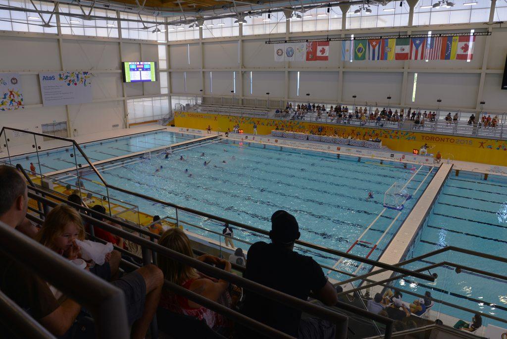 Pan Am 2015 Markham - Pool Area
