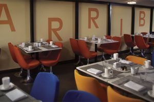 Graphic Shades at Arriba Restaurant