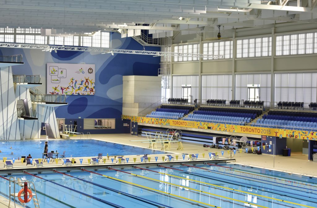 Pan Am 2015 Scarborough - Pool Area